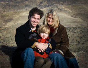 Damien, Paige, and Aidan Riehl - November 2008